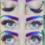 color eyelashes extensions chicago