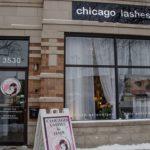 Chicago Lashes Store Front on Ashland