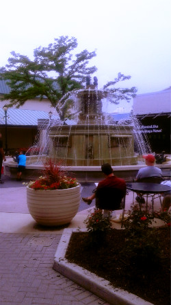 Old Orchard Mall Fountain Area